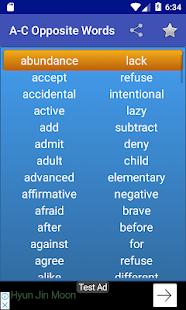 Kids Opposite Words - náhled
