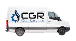 CGR Gas Services White Branded Van