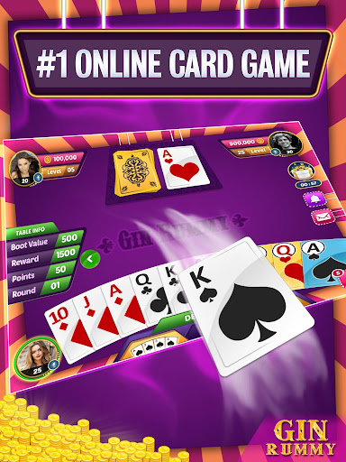 Gin Rummy Online - Multiplayer Card Game 14.1 screenshots 19