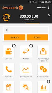 Swedbank Eestis- screenshot thumbnail