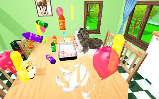 Kitten Cat Simulator:Cute cat SMASH Kids Room 1.0 screenshots 11