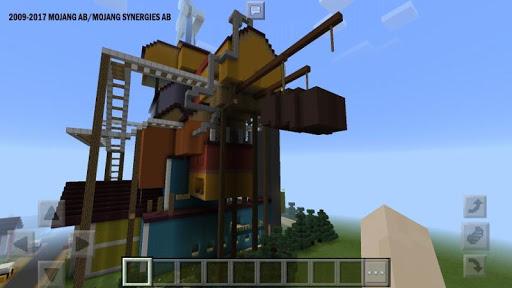 Maps Hello Neighbor for MCPE u2605 1.2.4 screenshots 5