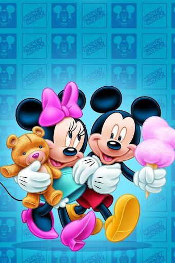 ... Mickey and Minnie Wallpaper screenshot 5 ...