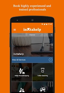 Inztahelp – Home Services- screenshot thumbnail
