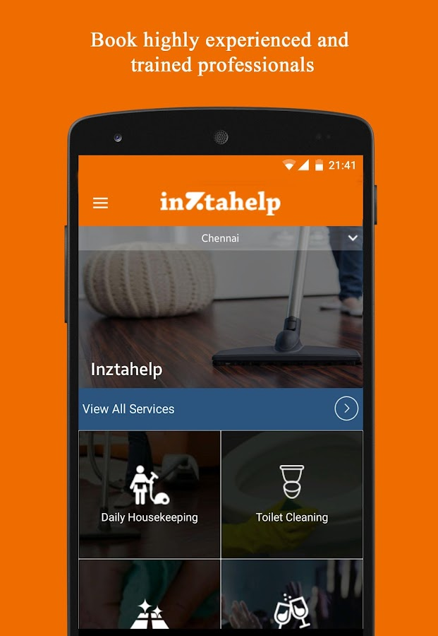 Inztahelp – Home Services- screenshot