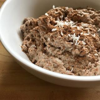 Chocolate Macaroon Chia Pudding Recipe