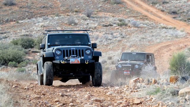 Jeeps wheelin'