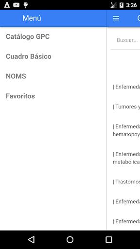 Salumex GPC NOMS Cuadro básico screenshot