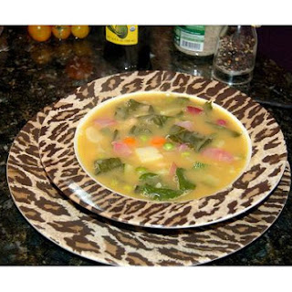 Zucchini and Leek Soup