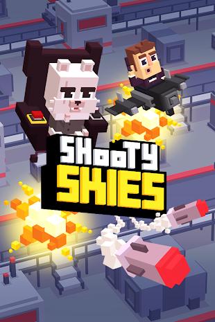 Shooty Skies - Arcade Flyer- screenshot thumbnail