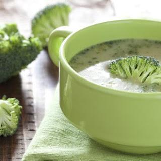 Broccoli and Kale Soup.