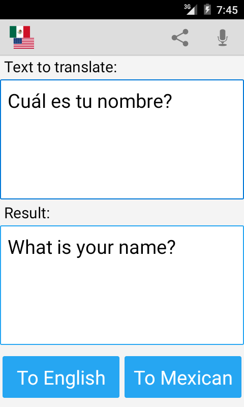 English to Spanish Translator for Android - Free download ...