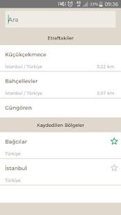 Fazilet Takvimi Pro Screenshot