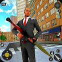 Critical Action: Mafia Gun Strike Shooting Game icon