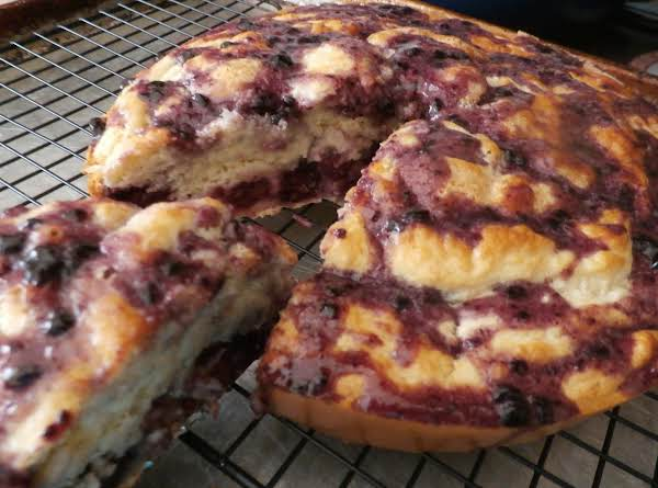 Dutch Blackberry Cake