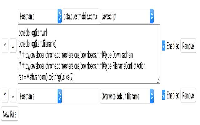 Download Filename Controller