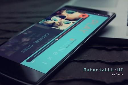 MateriaLLL UI for KLWP v3.0