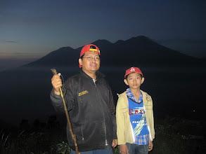 Photo: Bersama Zidan mendaki gunung Penanggungan.