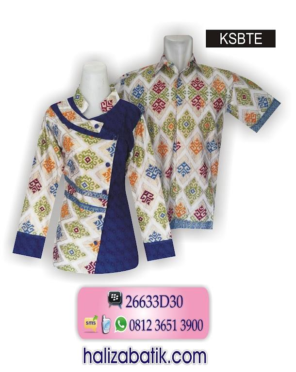 baju batik, desain baju batik, gambar model batik