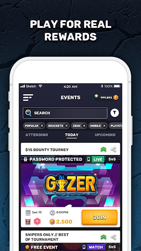 GIZER   The Global Gaming Network screenshot 3
