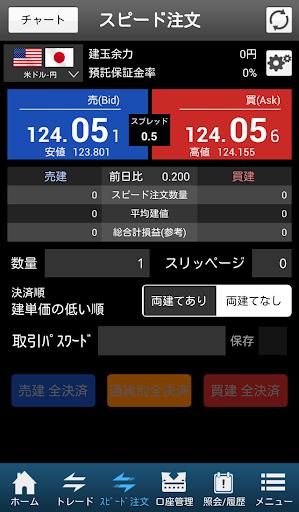 HYPER FXアプリ