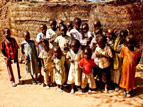 Photo: kids of the Kadugli tribe - everybody wanted to be on camera