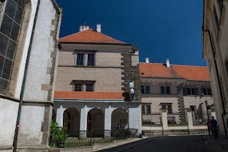 Photo: Pałac wybudowany w miejscu wcześniejszego zamku, który spalił się w 1387 roku.