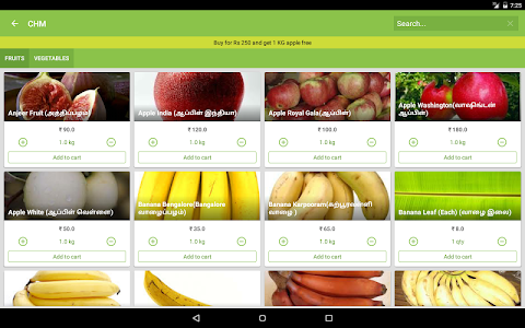 Chm Fruits and Vegetables screenshot 10