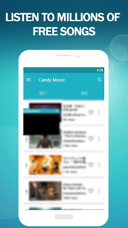 Candy Music - Stream Music Player for YouTube 1.2.5 screenshot 2092650