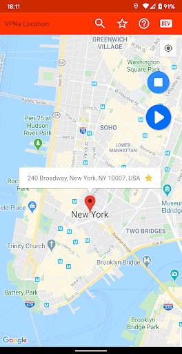vpna fake gps location - mock gps go screenshot 1