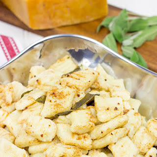 Potato Gnocchi with Sage Brown Butter Sauce.