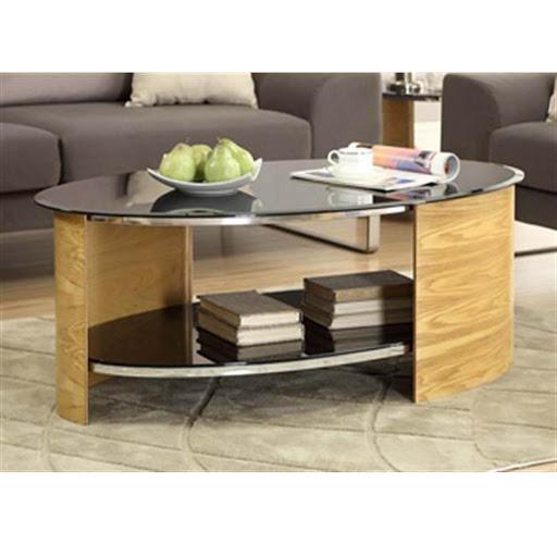 Jual Curve JF301 Oak Coffee Table