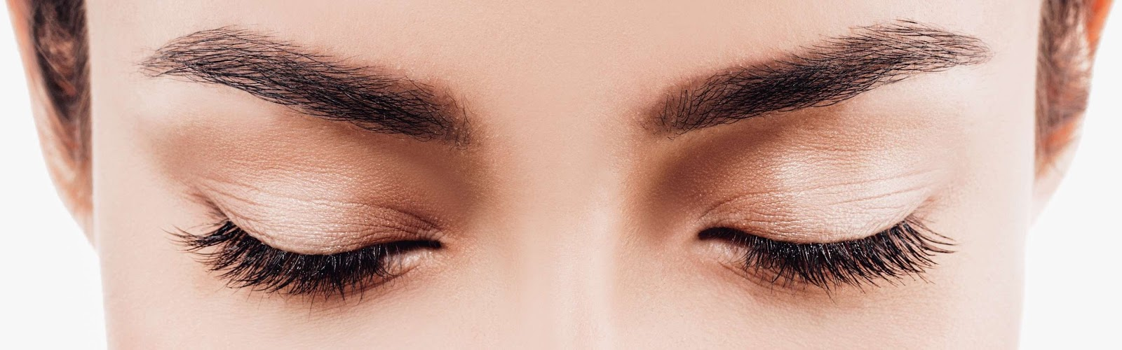 Eyelash lift, tint and eyebrow shaping