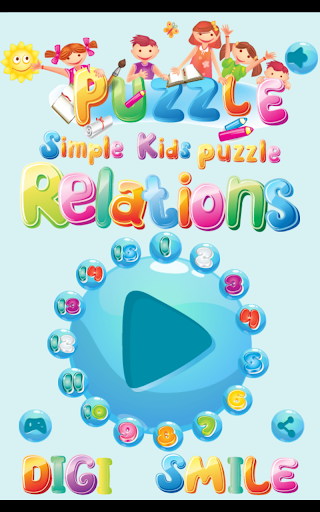 Simple Kids Puzzle - Relations