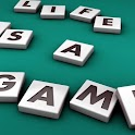 Life is a game icon