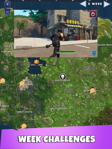 Map For Fortnite for PC