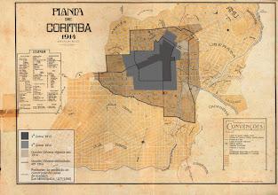 Photo: Planta de Curitriba de 1914