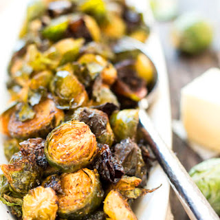 Browned Butter Brussel Sprouts.