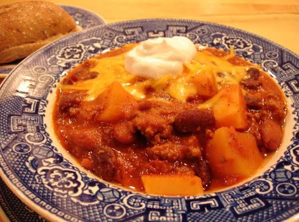 Potato Chili Recipe