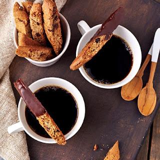 Chocolate Chip Almond Biscotti.