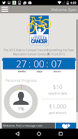 Screenshot of The Ride to Conquer Cancer® AU