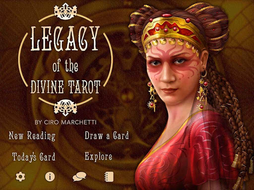 Legacy of the Divine Tarot screenshot 4