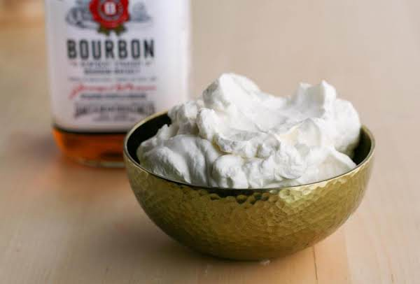 Bourbon Whipped Cream