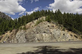 Photo: Stop 6 - Ingallis ophiolite, Swauk Formation, & Teanaway dikes