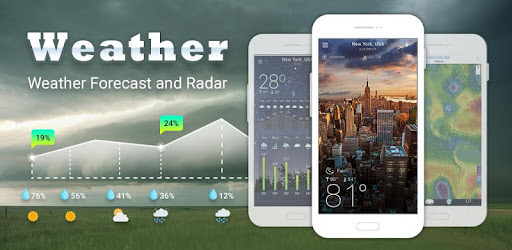 Weather App Pro แอป สำหรับ Android screenshot