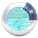 Ice and mint GO Keyboard icon