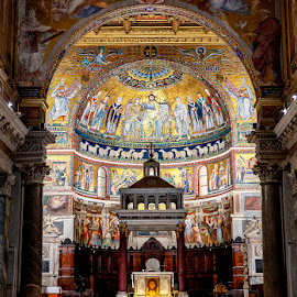 Churches of Rome by Ann J. Sagel - Buildings & Architecture Places of Worship ( rome, church, ann j. sagel, italy )