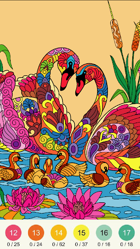 Wonder Color - Color by Number Free Coloring Book screenshots 18