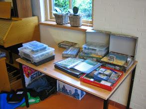 Photo: Wie memoir'44 wil spelen met wel over voldoende materiaal bescihkken natuurlijk :)