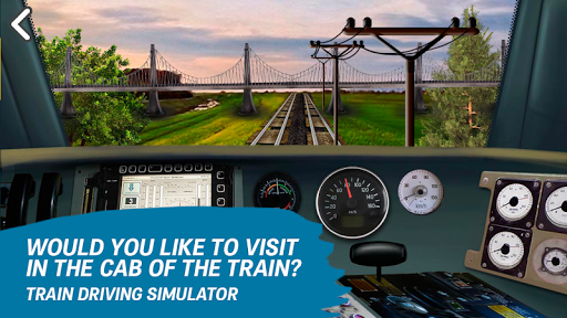 Train driving simulator  screenshots 5